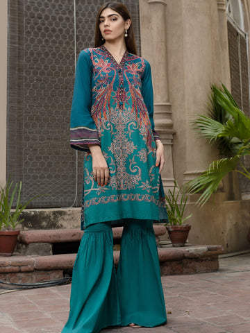 Limelight Winter Stitched Kurti U0746