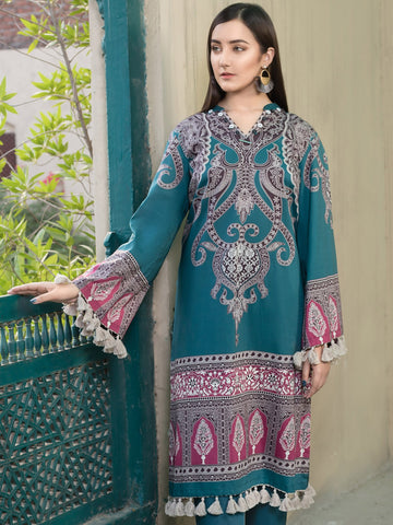 Limelight Winter Stitched Kurti U0809