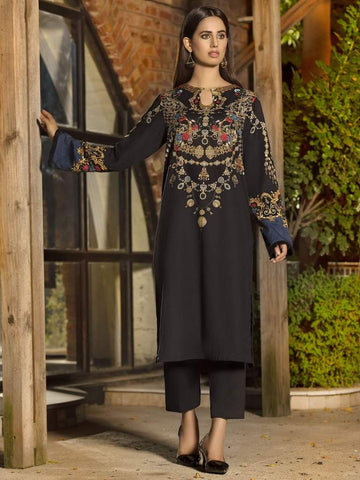 Limelight Winter Stitched Kurti U0866