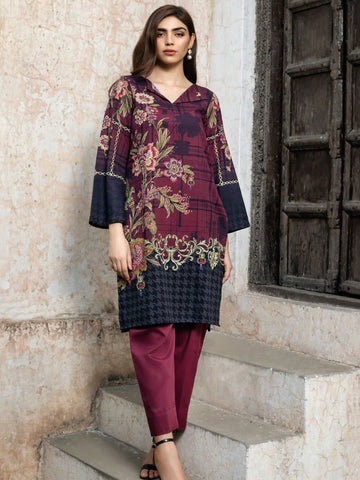 Limelight Stitched Winter Kurti U0872B