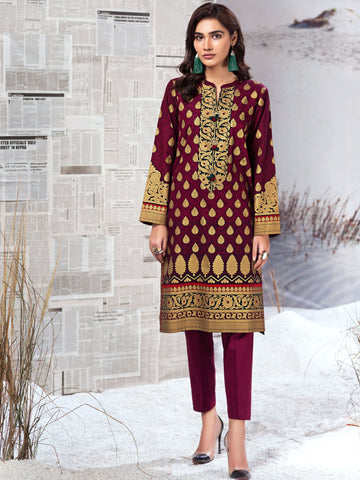 Limelight Stitched Winter Kurti U0940