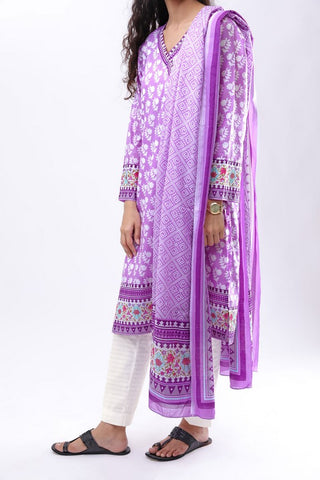 GUL AHMED LAWN STITCHED 3 PIECE 2019 CL#519B