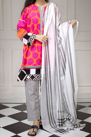 GUL AHMED LAWN STITCHED 3 PIECE 2019 CL#462