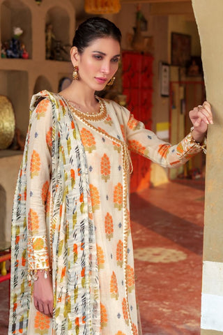 Gul Ahmed Lawn 2020 Stitched 3 Piece TR#05