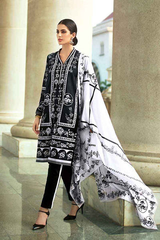 GUL AHMED LAWN STITCHED 3 PIECE 2019 B#37