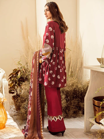 Beechtree Winter Stitched 3 Piece BT9W1U31