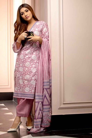 GUL AHMED LAWN STITCHED 3 PIECE 2019 CL#477B