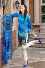 GUL AHMED LAWN STITCHED 3 PIECE 2019 CT#232