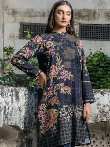 Limelight Stitched Winter Kurti U0872