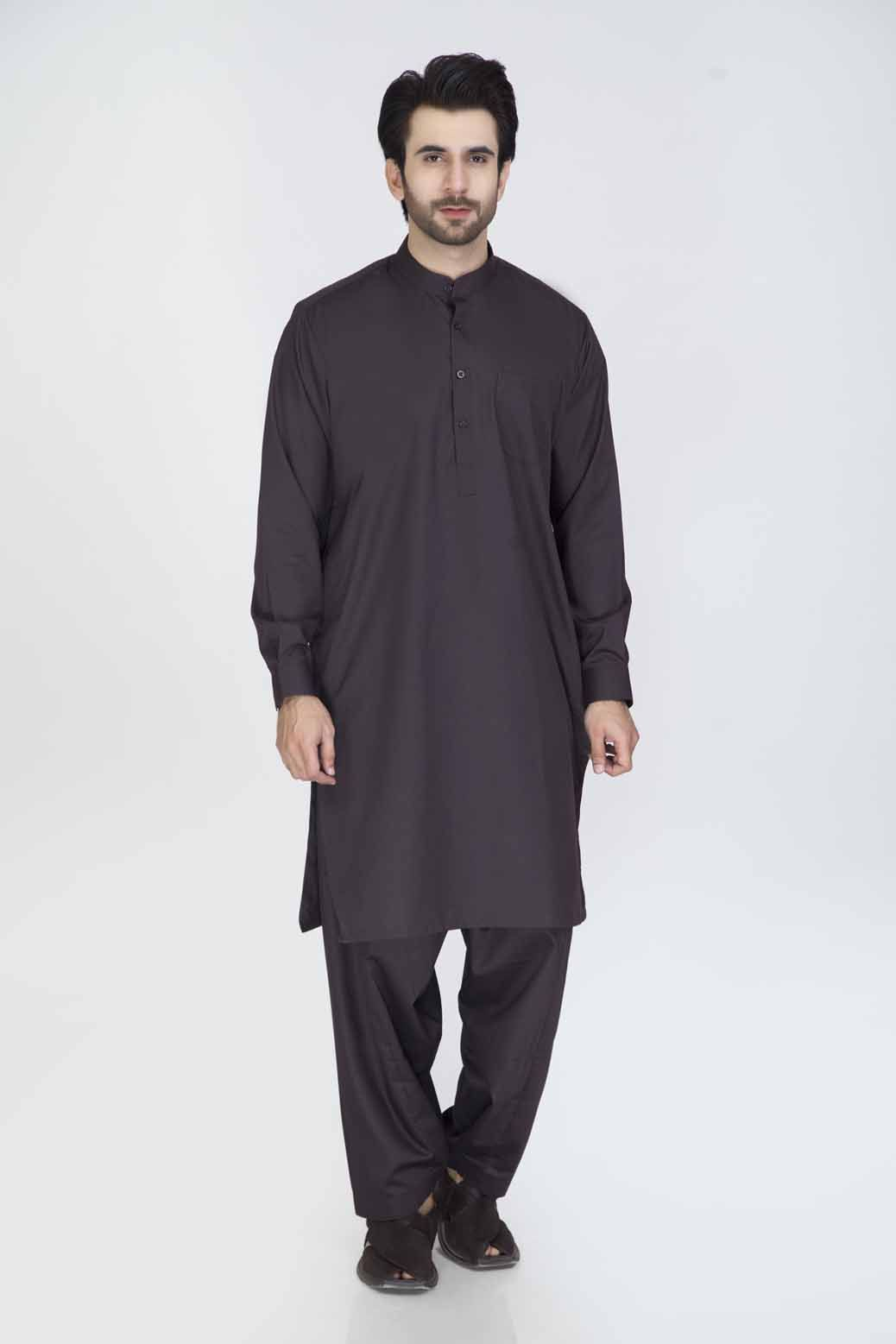 Regular Fit Kurta & Shalwar GSSRB012