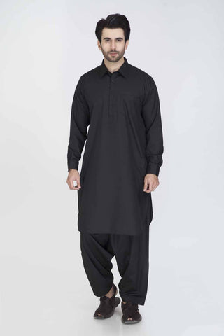 Regular Fit Kurta & Shalwar GSSRS012