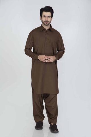Regular Fit Kurta & Shalwar GSSRS013