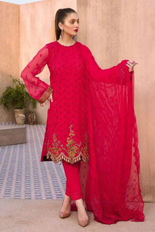 Gul Ahmed Lawn 2020 Stitched 3 Piece PM#326