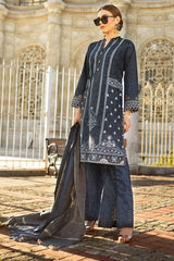 Gul Ahmed Stitched Winter 3 Piece  MJ#15