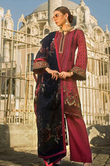 Gul Ahmed Stitched Winter 3 Piece  MV#14