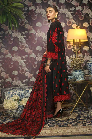 Gul Ahmed Stitched Winter 3 Piece  K#83