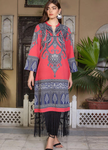 Limelight Stitched Winter Kurti U0809