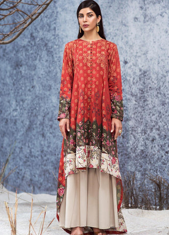 Limelight Stitched Winter Kurti U0860B
