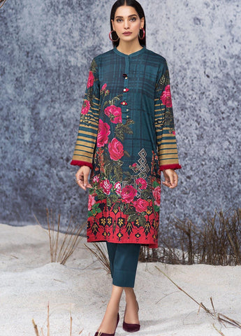 Limelight Stitched Winter Kurti U0917