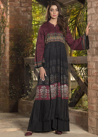 Limelight Stitched Winter Kurti U0931