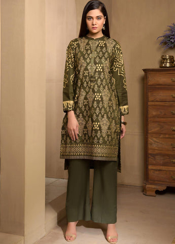 Limelight Stitched Winter Kurti U0946
