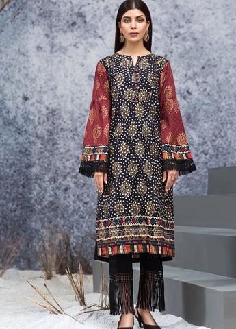 Limelight Stitched Winter Kurti U0992