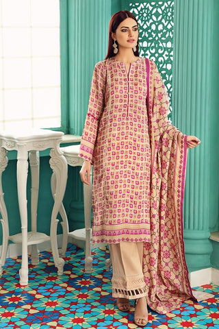 Gul Ahmed Winter Stitched 3pc LT#22