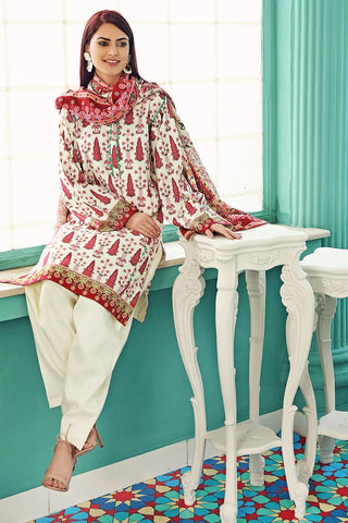 Gul Ahmed Winter Stitched 3pc LT#10