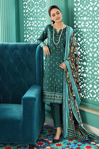 Gul Ahmed Winter Stitched 3pc LT#14