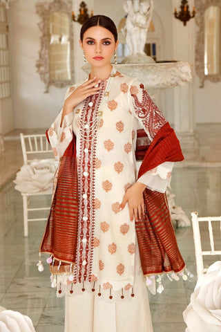 Gul Ahmed Stitched 3 Piece FE#267
