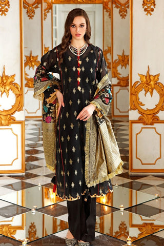 Gul Ahmed Stitched 3 Piece FE#270