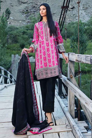 Gul Ahmed Stitched Winter 3 Piece  CD#22