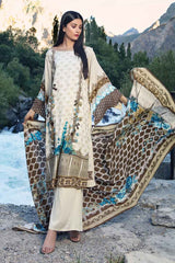 Gul Ahmed Stitched Winter 3 Piece  M#20A
