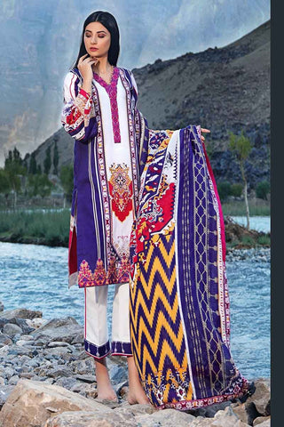 Gul Ahmed Stitched Winter 3 Piece  CD#21