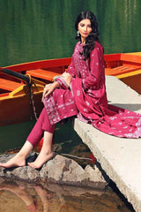 Gul Ahmed Stitched Winter 3 Piece  DK#05