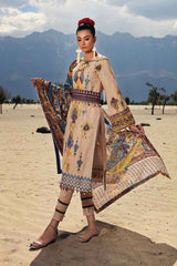 Gul Ahmed Stitched Winter 3 Piece  K#80