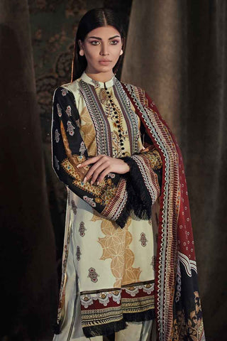 Gul Ahmed Stitched Winter 3 Piece  CD#32
