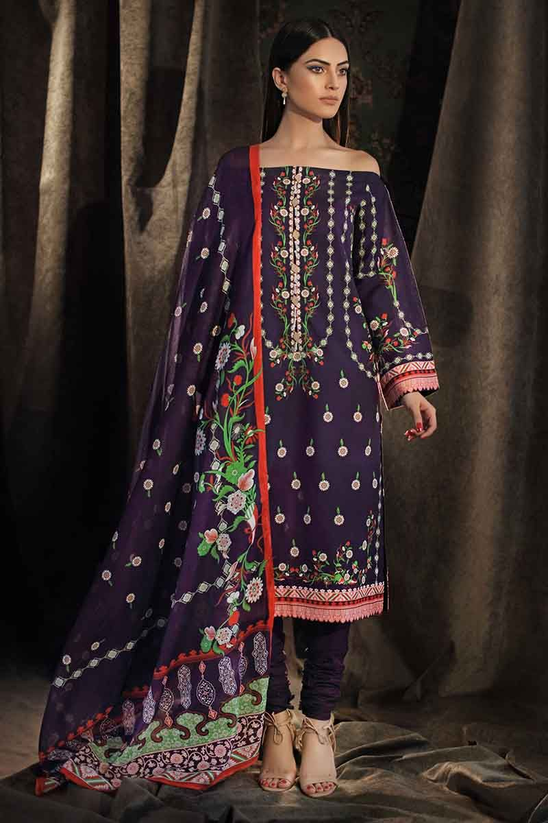 Gul Ahmed Stitched Winter 3 Piece  CD#31