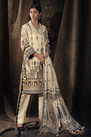 Gul Ahmed Stitched Winter 3 Piece  CD#23