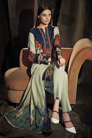 Gul Ahmed Stitched Winter 3 Piece  CD#33