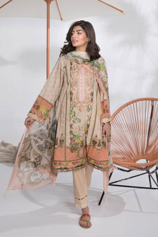 Stitched 2 Pieces Suit Dawn Light B 27