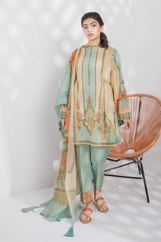 Stitched 3 Pieces Suit Ethnic Twist B 16
