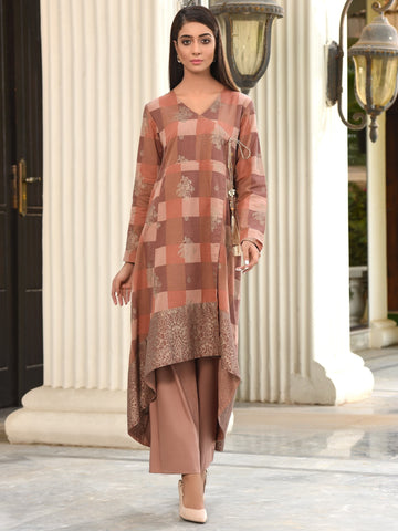 Limelight Stitched Winter Kurti U0906B