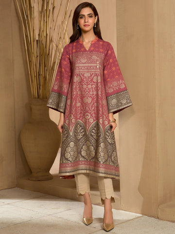 Limelight Stitched Winter Kurti U0909B
