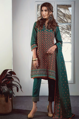 Satrangi Three Pieces Suit WC183P-12A