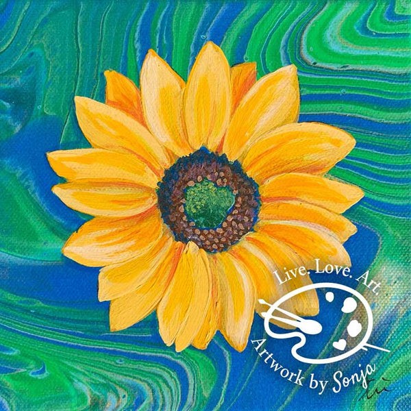 Sunflower 1 Print