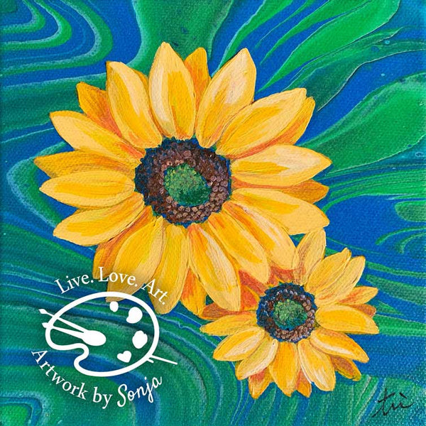 Sunflower 2 Print