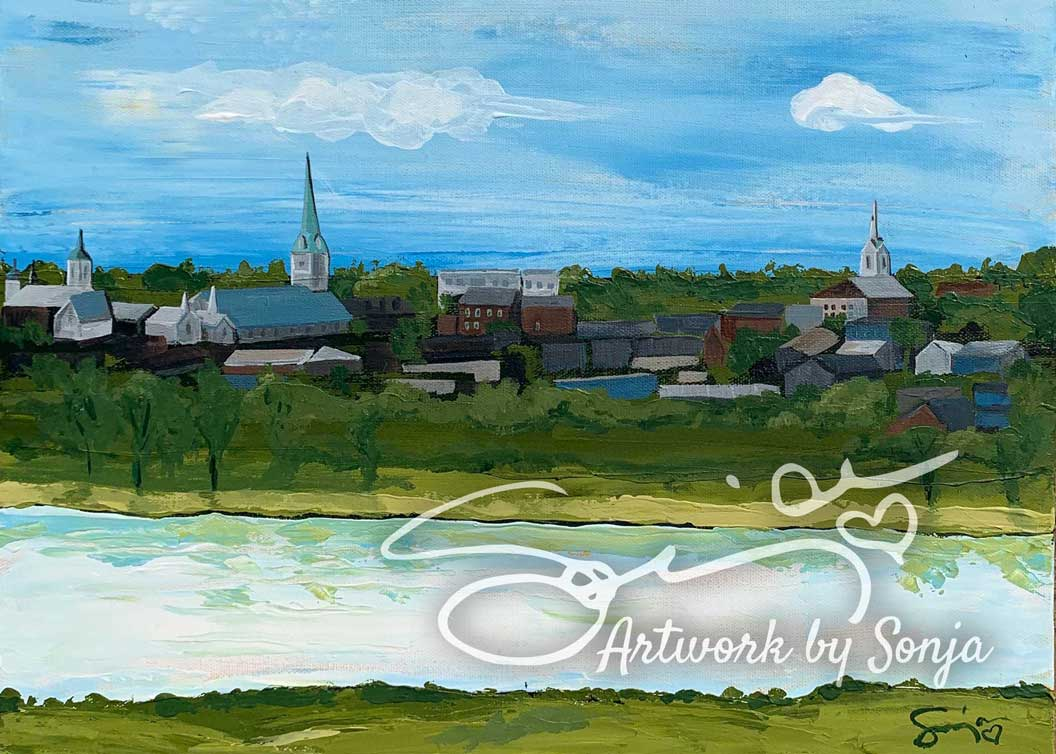 Skyline over Rappahannock Print