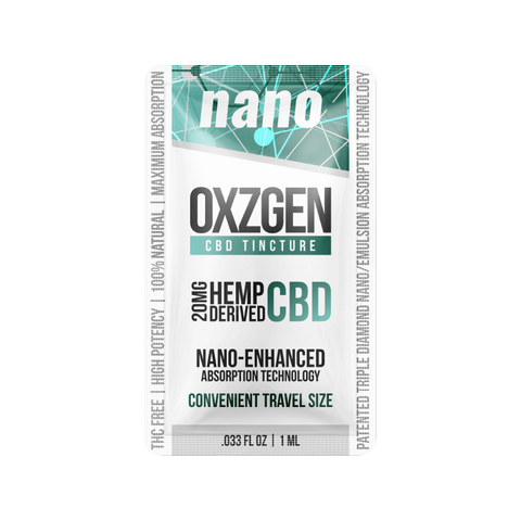 20 MG Nano CBD Tincture Snap 6 Pack