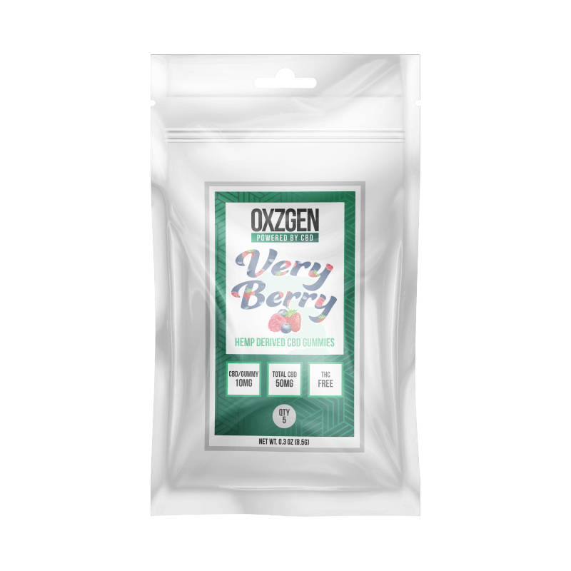Very Berry CBD Gummies 5 CT (3 Pack)